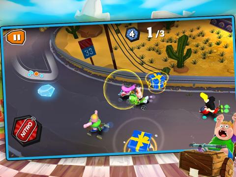 Formula Cartoon All-Stars tablet App screenshot 2