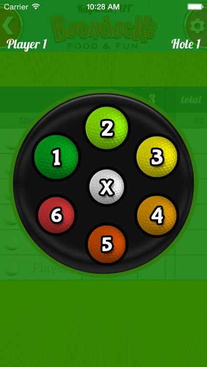 Boondocks Mini Golf Scorecard screenshot-4