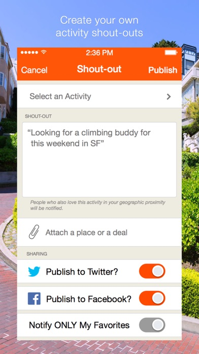 VentureOut - Find Enthusiasts screenshot four