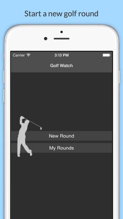 Golf Watch - Scorecard for iPhone and Apple Watch screenshot one