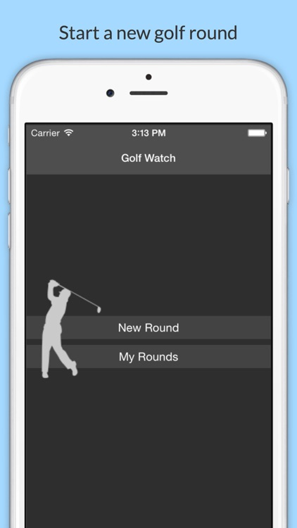 Golf Watch - Scorecard for iPhone and Apple Watch