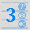 3つメモ 〜 みつめも ウィジェット対応メモ 〜 - iPhoneアプリ
