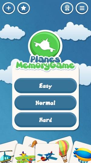 Bellek Uçağı çocuklar Ve Okulöncesi Için Oyun Bağlama Uçaklar