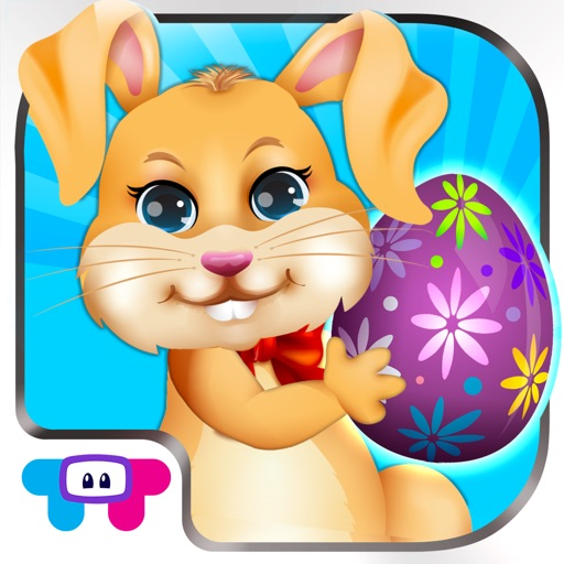 Easter Bunny Dress Up and Card Maker - Decorate Funny Bunnies & Eggs