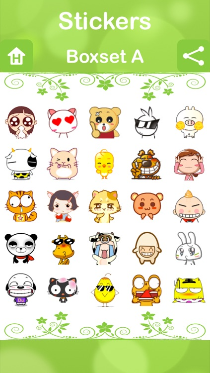 Stickers for Facebook Messenger, WeChat, Viber & WhatsApp...etc screenshot-3
