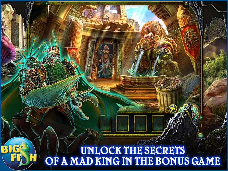 Dark Parables: The Little Mermaid and the Purple Tide HD - A Magical Hidden Objects Game (Full) screenshot-3