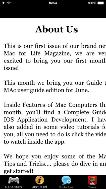 Mac for Life Magazine