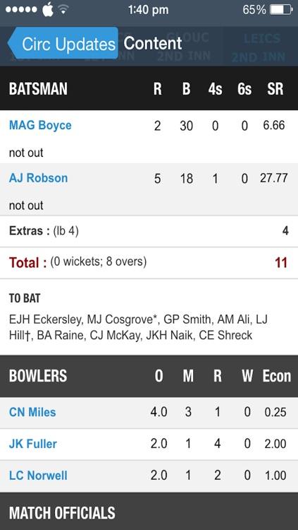 Cric Updates - Live Cricket Score and News screenshot-4