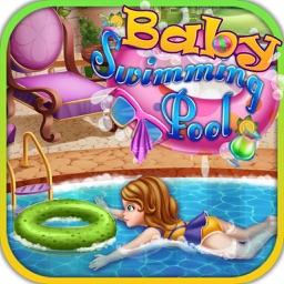 Baby Swimming Pool Game