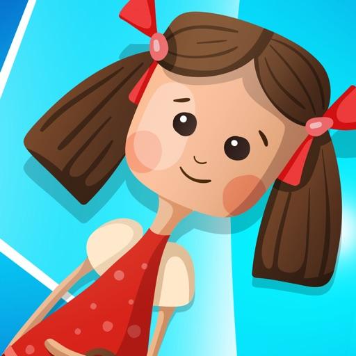 Активная! Игра Для Детей, Чтобы Учиться И Играть В Игрушки И Куклы