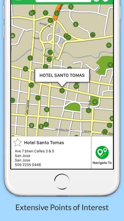 Belize GPS Map Navigator
