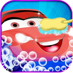 Car Wash Salon - Crazy auto car washing and cleaning spa game