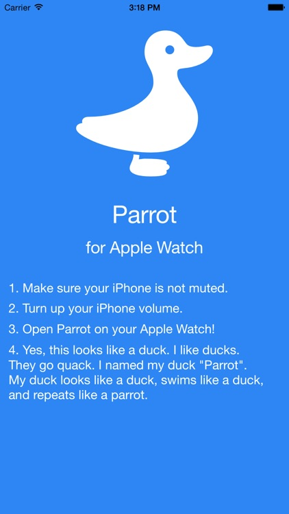 Parrot - Repeat After Me