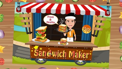 Sandwich Maker - Crazy fast food cooking fever and kitchen