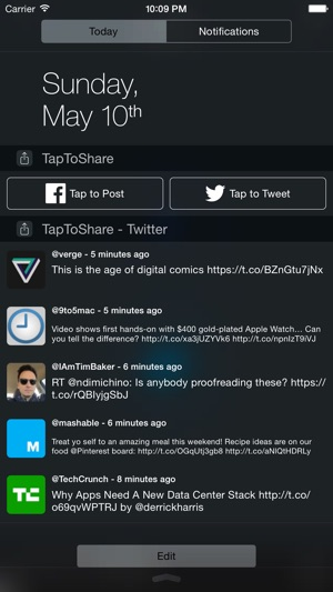 TapToShare Screenshot