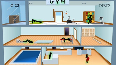 Deadly Gym - Stickman Edition