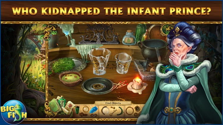 Grim Legends 2: Song of the Dark Swan - A Magical Hidden Object Game screenshot-1