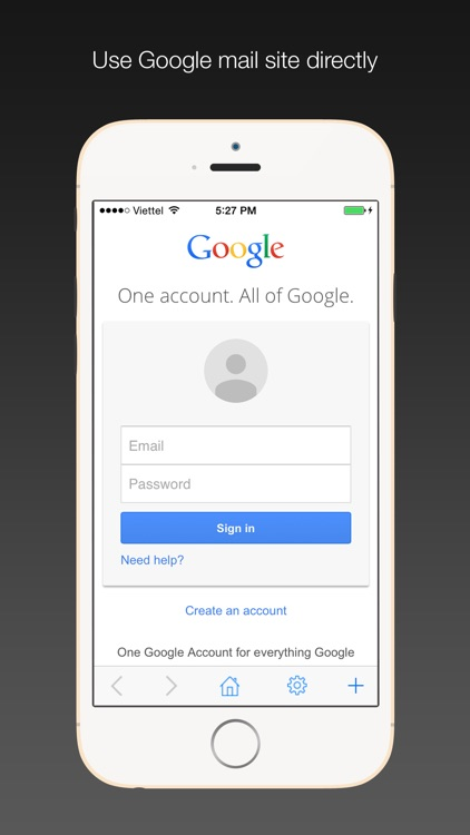 Safe Email for Gmail: secure, easy Google mail mobile app with passcode