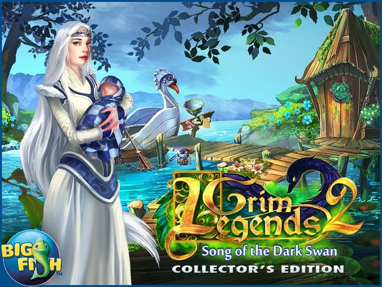 Grim Legends 2: Song of the Dark Swan HD - A Magical Hidden Object Game (Full) screenshot-4