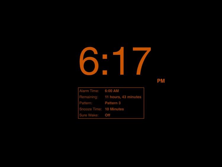 Progressive Alarm Clock for iPad screenshot-3