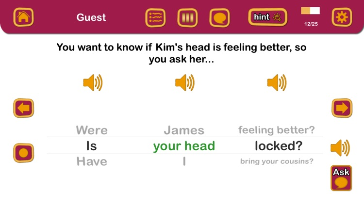 Question Therapy 2-in-1: Asking & Answering for Yes/No & Wh Questions screenshot-4