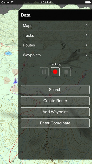 VMS Map Explorer | 4WD 3D Topo Offline Navigation screenshot four