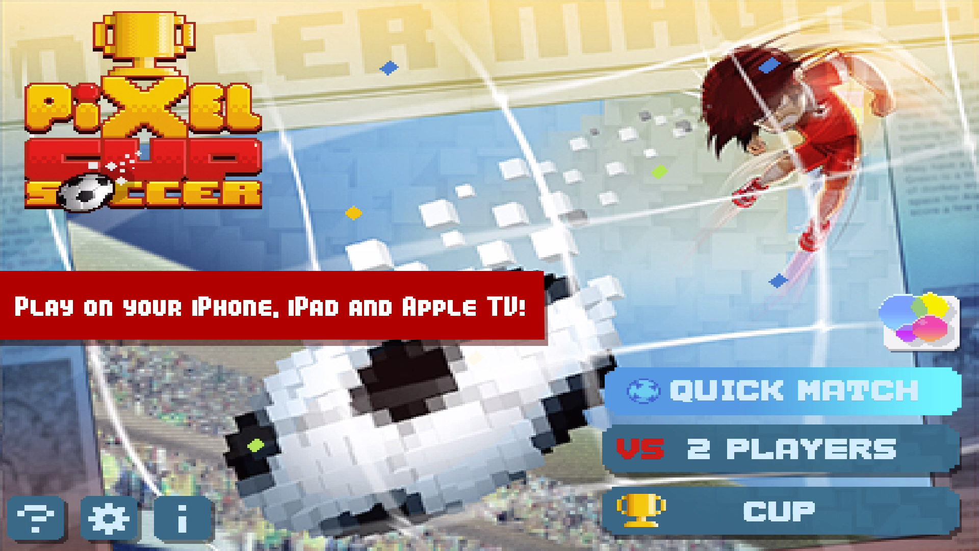 Pixel Cup Soccer screenshot 12