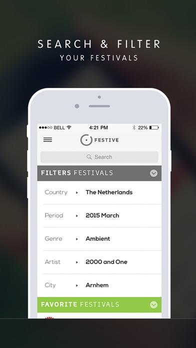 Festive iPhone app afbeelding 2