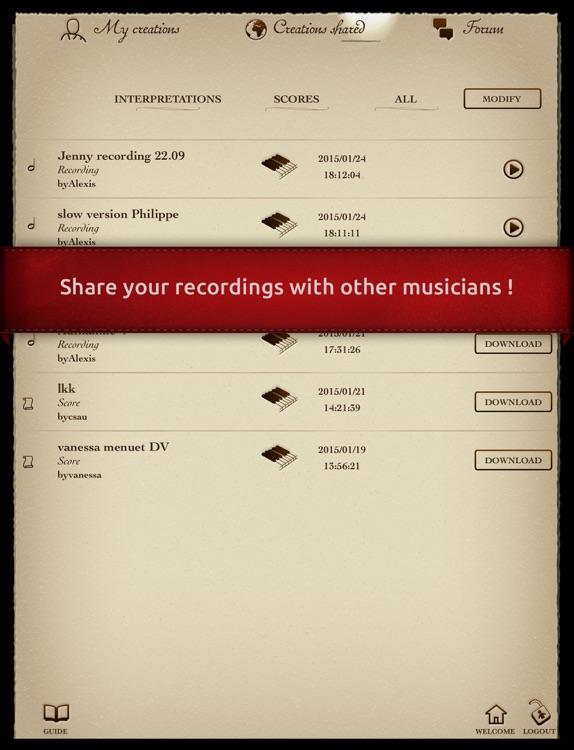 Play Beethoven – « Moonlight Sonata » (interactive piano sheet music) screenshot-3