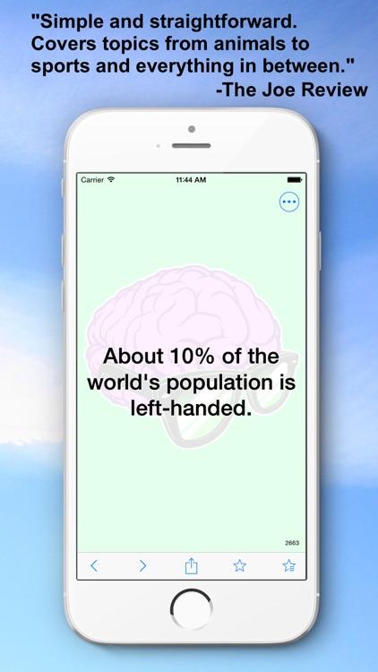 Random Facts - 3500+ Interesting, Unusual, and Random Facts! screenshot-4