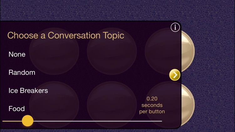 Conversation Paceboard - pacing therapy for dysarthria, stuttering, cluttering, apraxia
