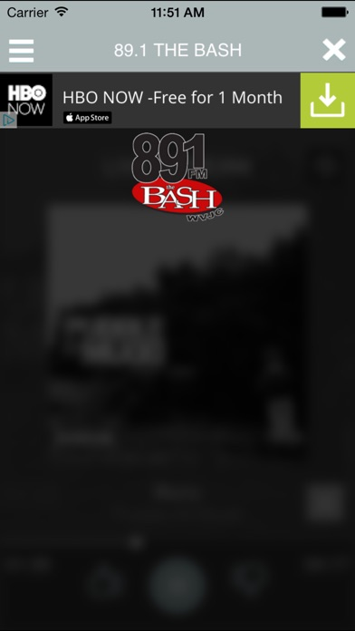 download 89.1 The Bash WVJC apps 0