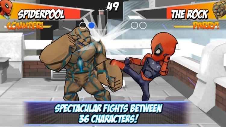 Superheros 2 Free fighting games