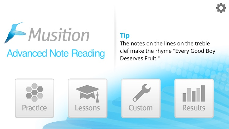 Musition Advanced Note Reading