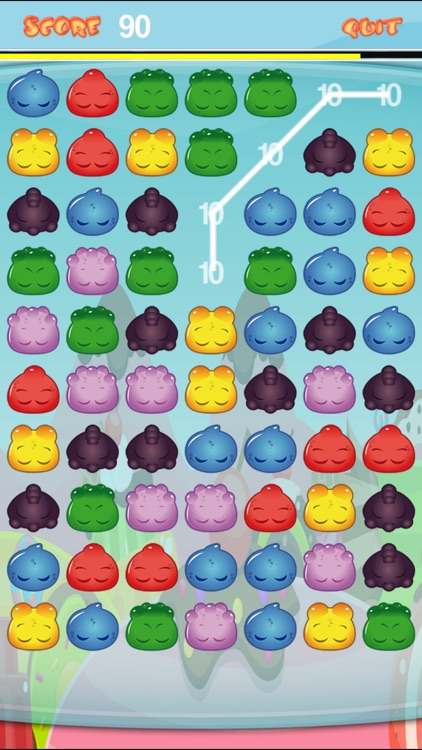 A Gummi Gumdrop Jelly Connect Mania