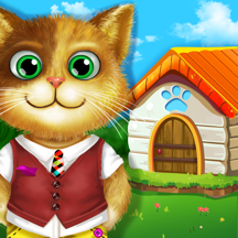 Puppy House Party - Adorable Animals Playhouse Kids Mini Games: Early Childhood Learning
