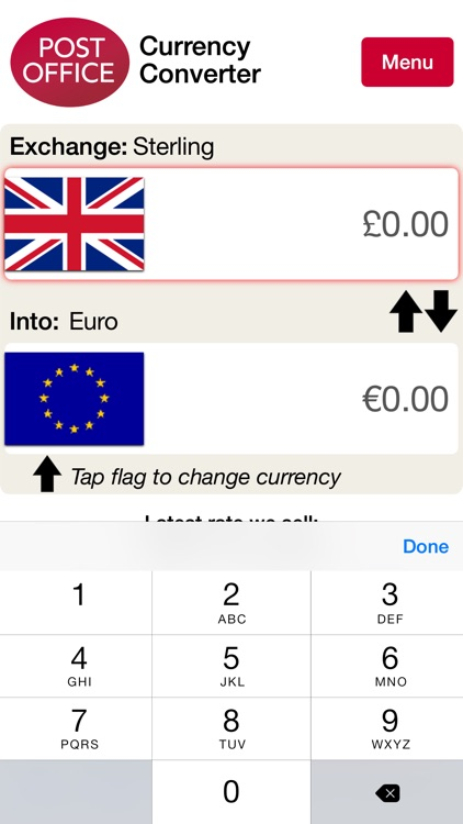 Post Office Currency Converter screenshot-4