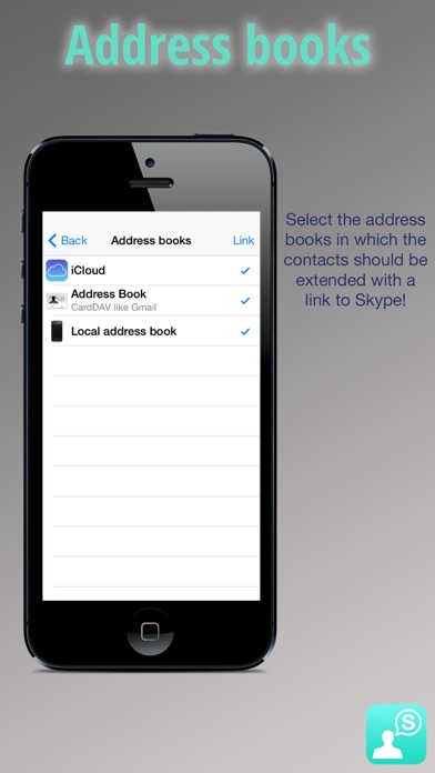 Sky Contacts - Start Skype calls and send Skype messages from your contactsのおすすめ画像4
