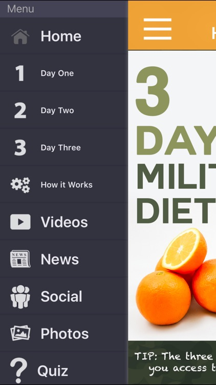 3 Day Military Diet Guide