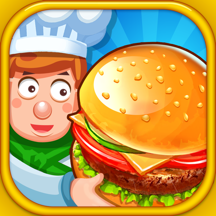 Burger Shop Story - Little Kids Cooking Business Educational Game