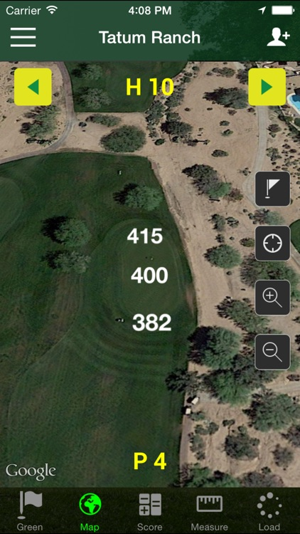 Golf GPS - FreeCaddie Pro screenshot-1
