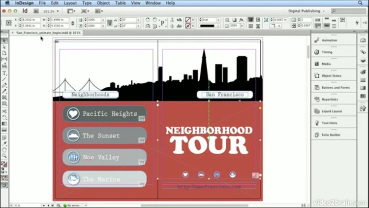 Master Class Adobe InDesign Edition screenshot-2