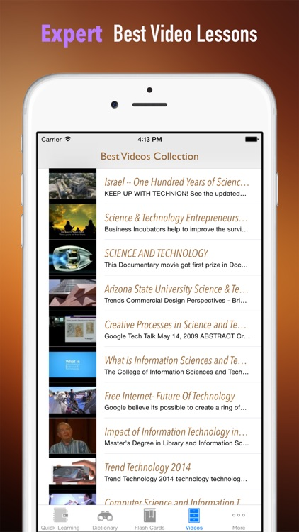 Enterprise Information Technology (IT)& Science Quick Study Reference: Best Dictionary with Video Lessons and Learning Cheat Sheets screenshot-4