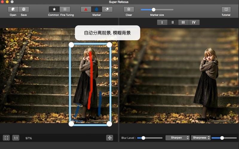 景深滤镜 After Focus - 图片背景模糊虚化,焦外成像,散焦