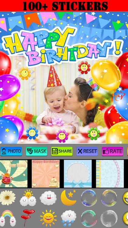 Happy Birthday Frames and Icons screenshot-3