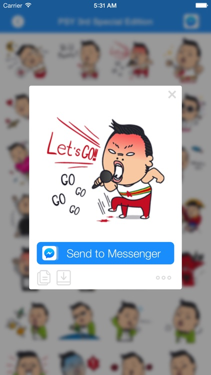 Total Stickers for Messenger
