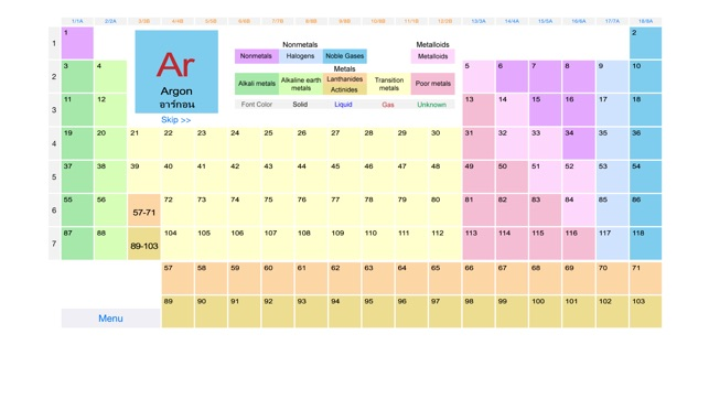 Periodic table easy on the app store urtaz Image collections