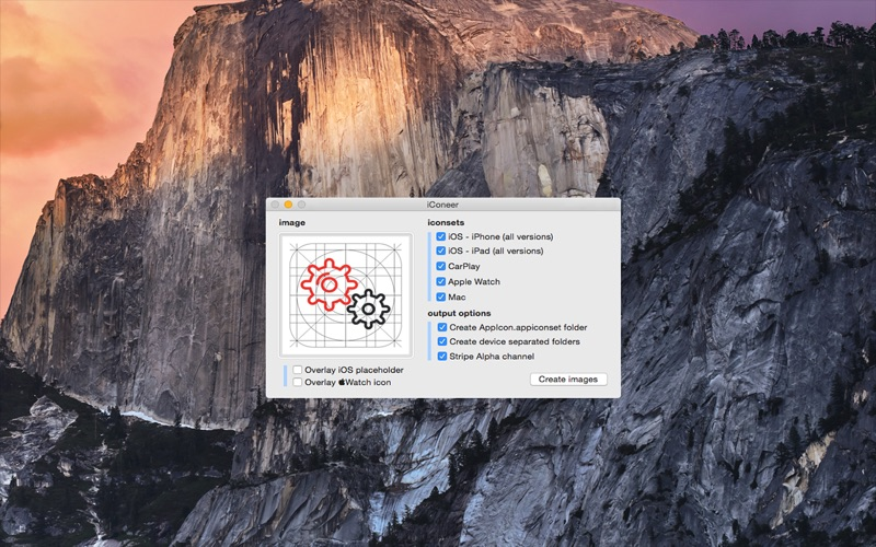 iConeer - iconset and asset creator for Xcode   App Price Drops