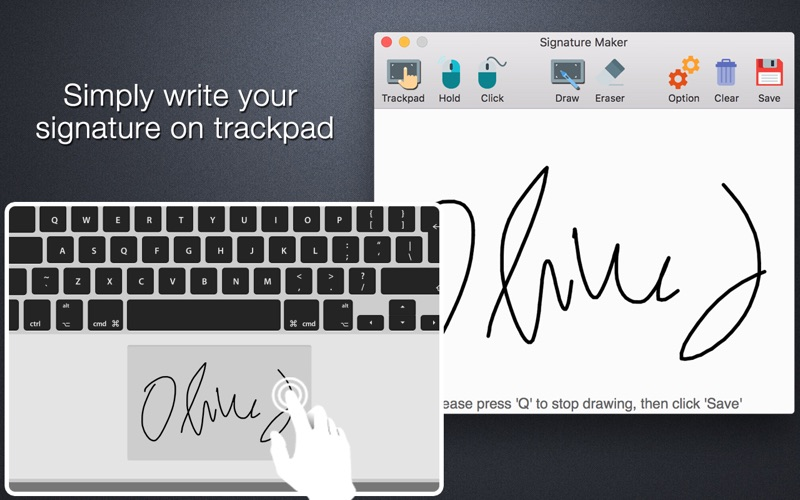 Signature Maker Screenshot
