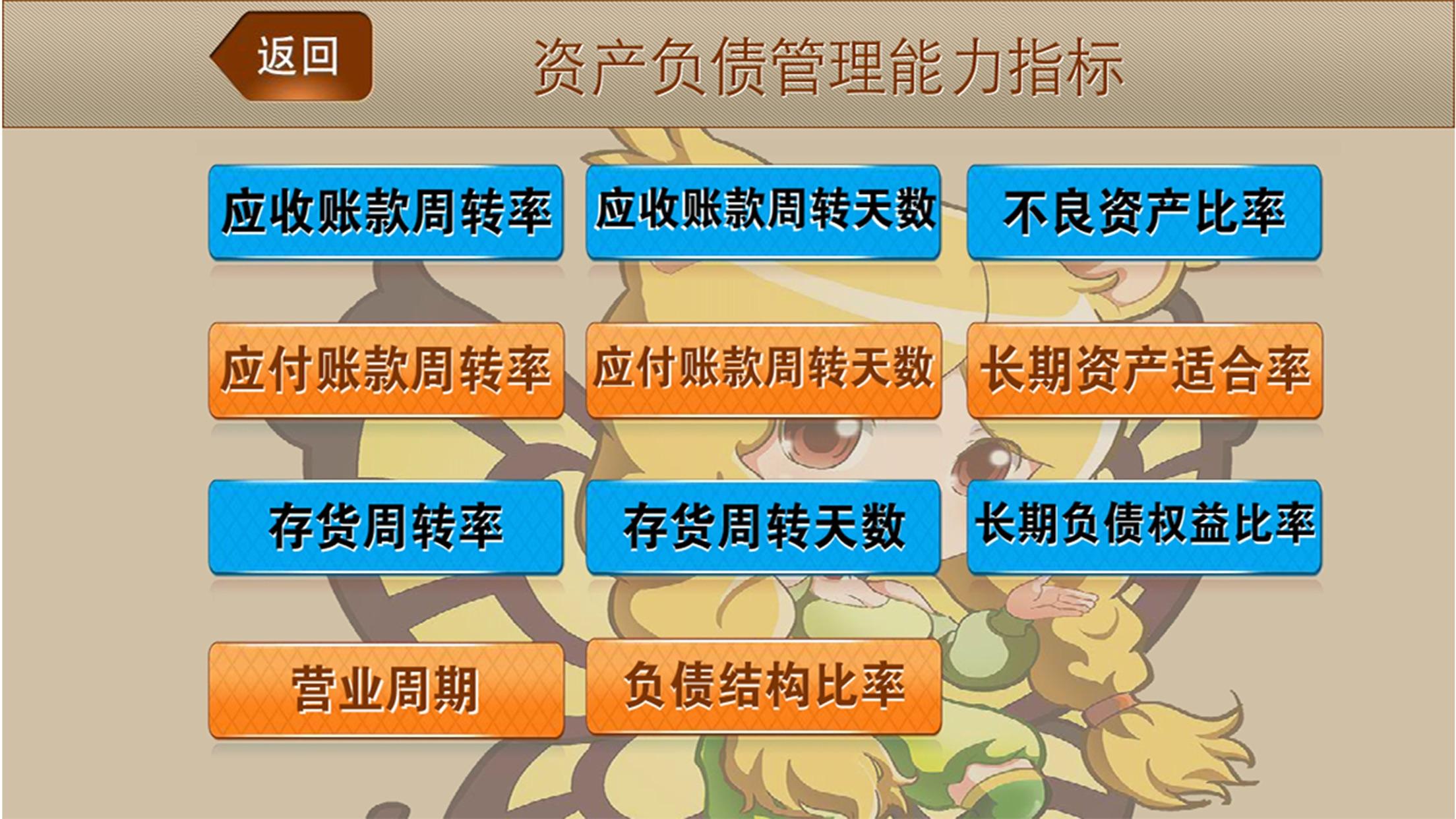 财务指标选股 Screenshot